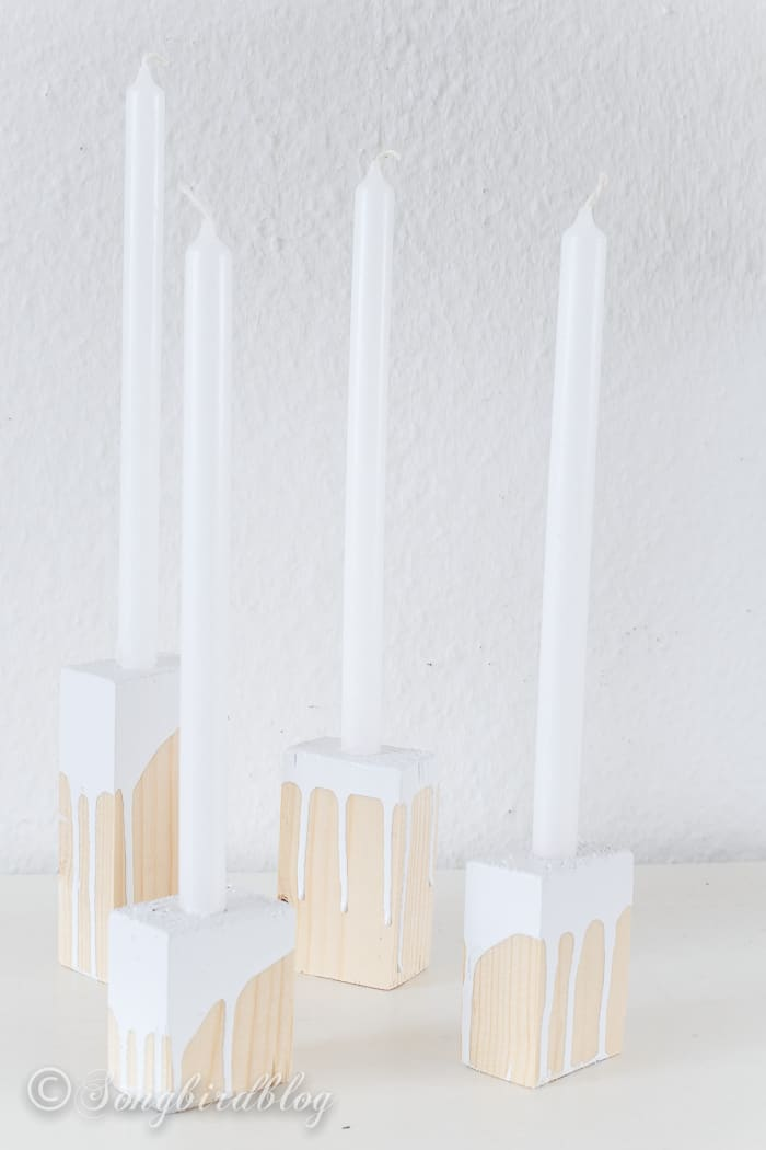 wood blox candle sticks-4