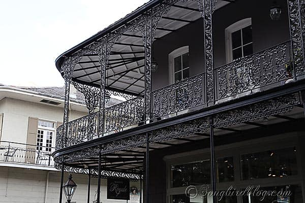wrought iron balcony New Orleans